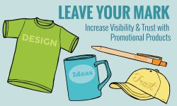 Promotional Products - Increase Small Business Visibility and Trust